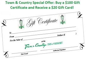Gift Certificates from Town & Country